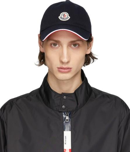 Moncler Navy Baretto Baseball Cap