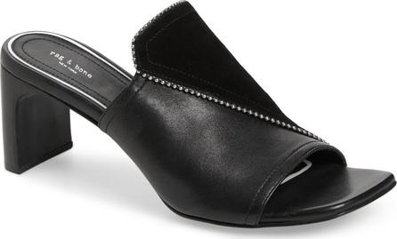 Rag & Bone Myla Asymmetrical Beaded Slide Sandal