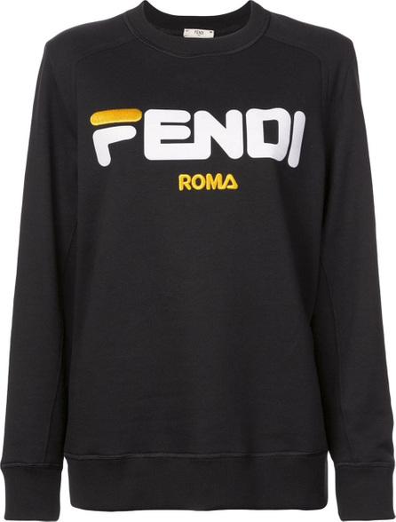 Fendi Logo print jumper