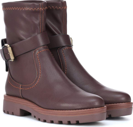 See By Chloé Dakota faux leather ankle boots