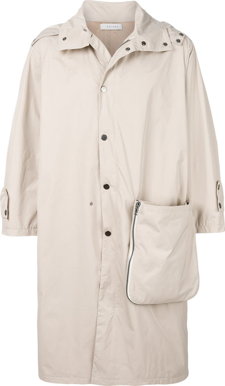 Delada Removable pocket coat