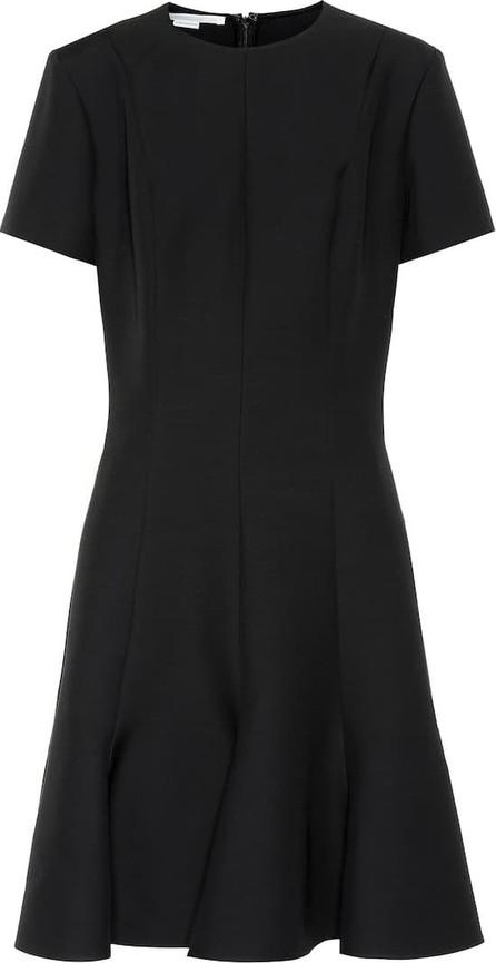 Stella McCartney Wool-blend crêpe dress
