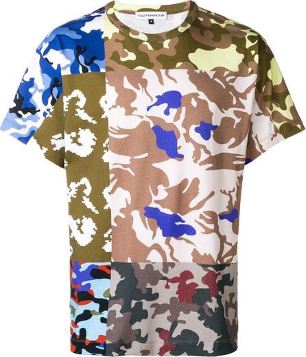 Gosha Rubchinskiy Patchwork camouflage T-shirt