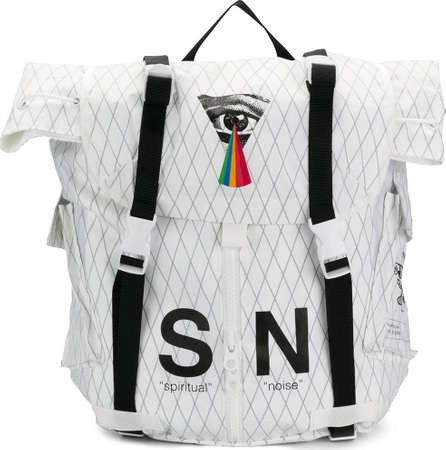 Undercover S N printed square backpack