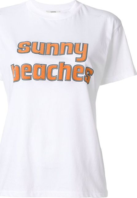 Ganni Sunny Beaches T-shirt