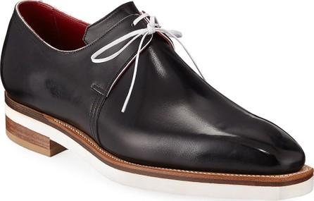 Corthay Arca Contrast-Sole Derby Shoe