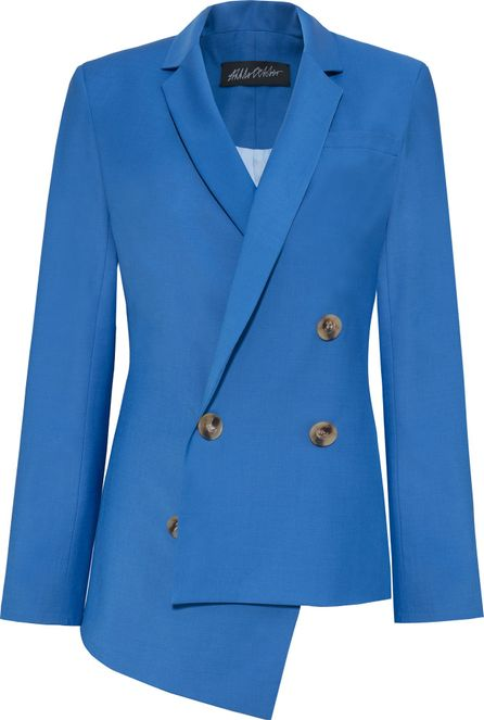 Anna October Asymmetric Wool Jacket