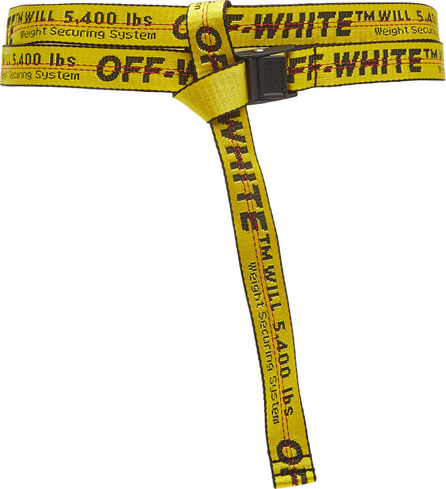 Off-White x Virgil Abloh Mini Industrial Canvas-Jacquard Belt