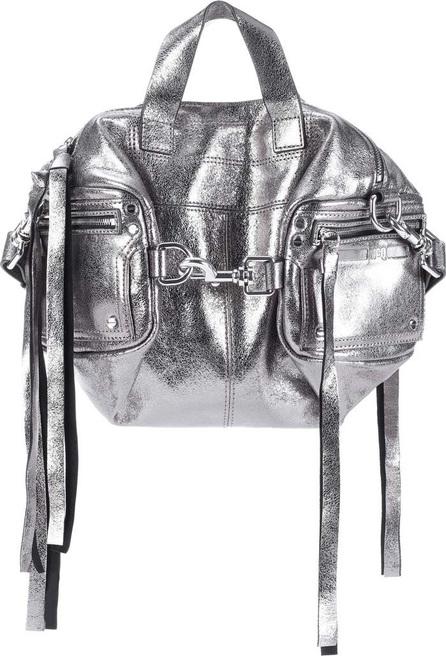 McQ - Alexander McQueen Metallic leather shoulder bag