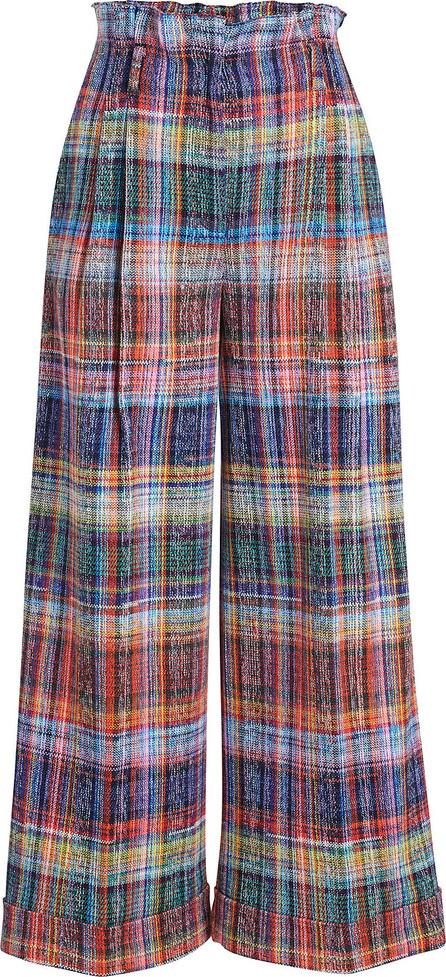 Missoni Cropped Plaid Pants
