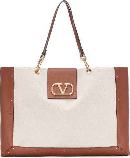 Valentino Valentino Garavani City Safari Medium canvas tote