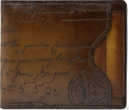 Berluti Makore Leather Billfold Wallet