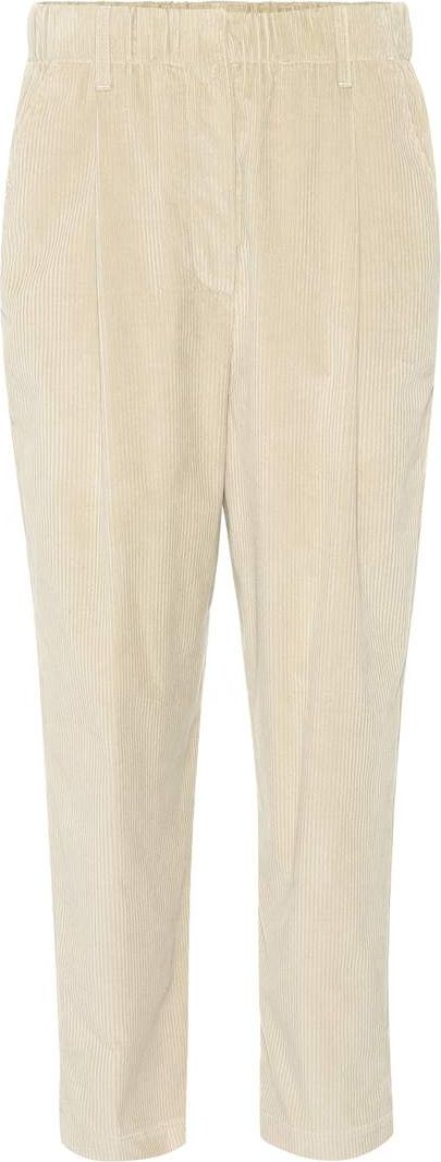 Brunello Cucinelli - Cropped corduroy trousers