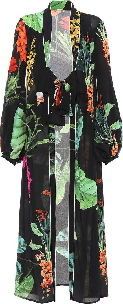 Exclusive to mytheresa.com – Kiribati silk kimono cardigan