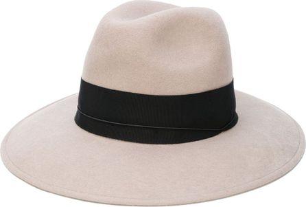 Federica Moretti wide brim felt hat