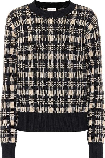 Dries Van Noten Checked wool-blend sweater