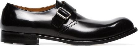 Comme Des Garçons Homme Plus Monk strap leather shoes