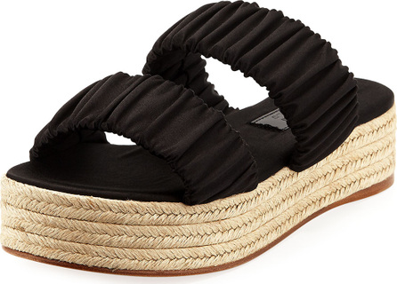 Mercedes Castillo Yolanda Satin Platform Sandal
