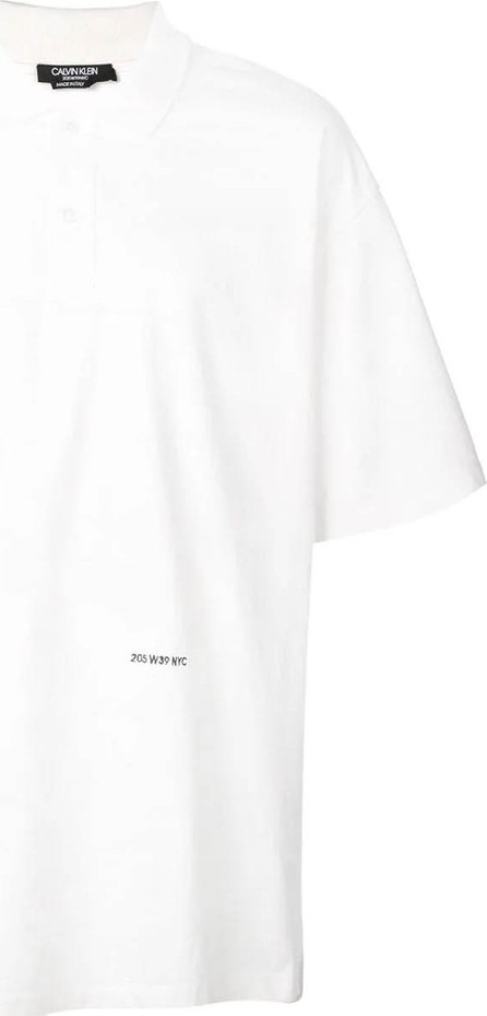 Calvin Klein 205W39NYC Embroidered polo shirt