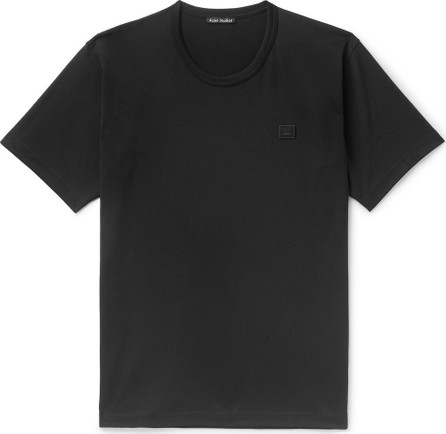 Acne Studios Nash Logo-Appliquéd Cotton-Jersey T-Shirt