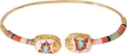 GAS Bijoux Duality Scaramouche 24kt Gold Plated Bracelet