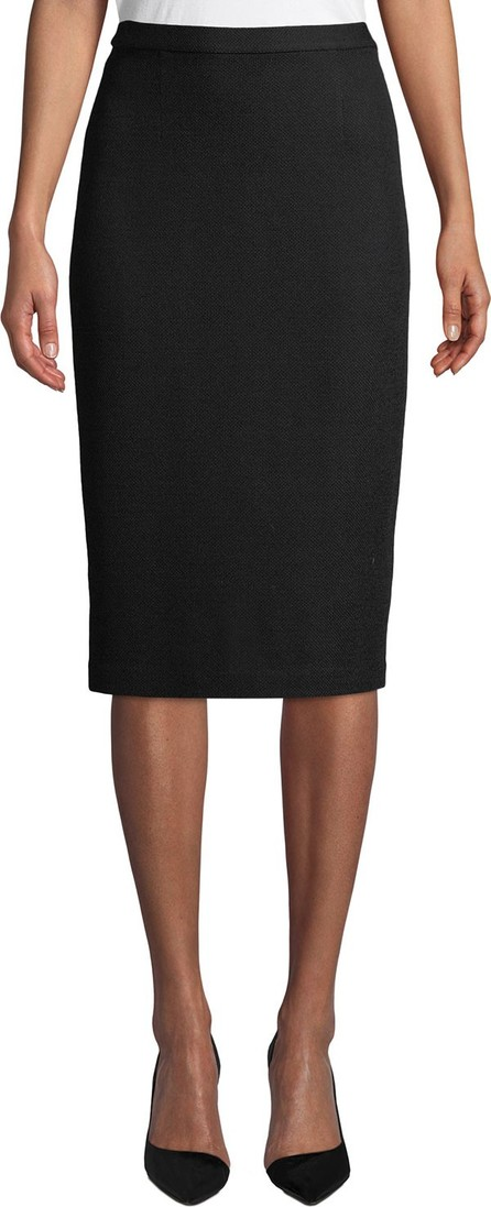 St. John Milano Pique Knit Pencil Skirt