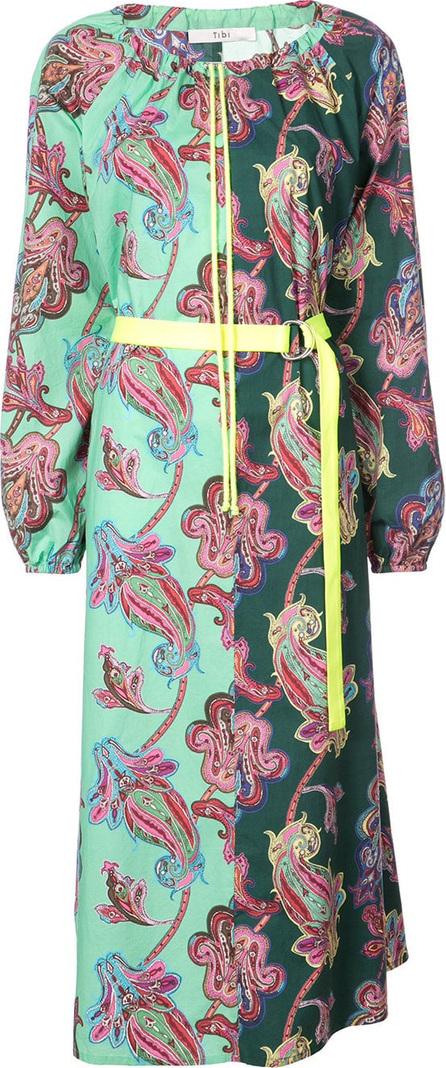 Tibi Paisley print shift dress