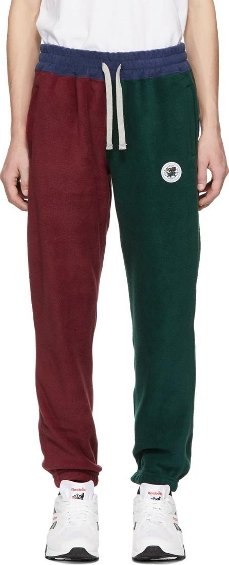 Aimé Leon Dore Multicolor Colorblocked Polar Fleece Lounge Pants