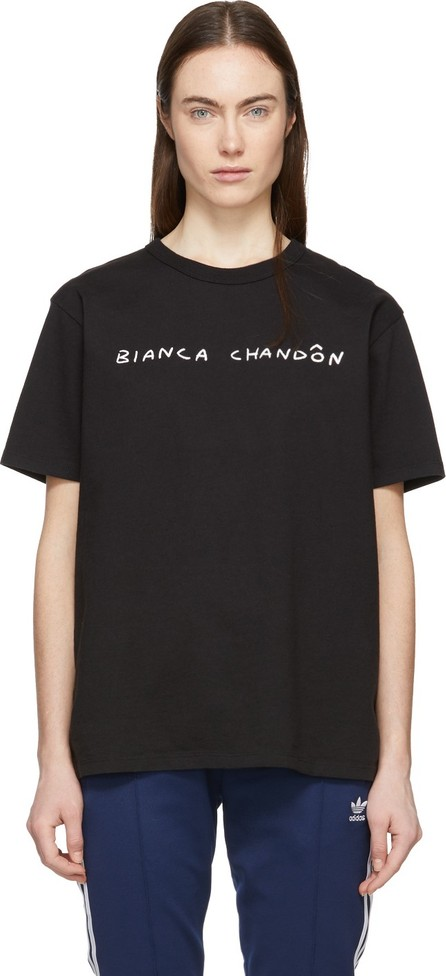 Bianca Chandon Black 'Wyoming' T-Shirt