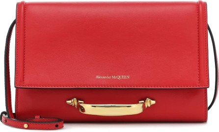 Alexander McQueen The Story leather crossbody bag