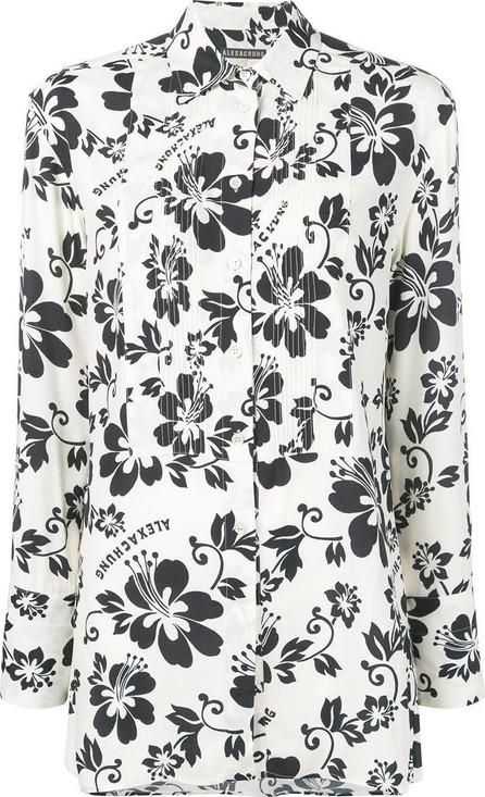 Alexachung Hawaiian flower print shirt