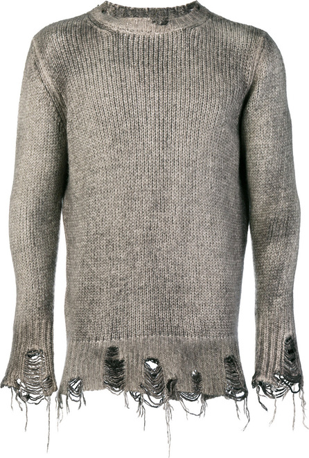 Avant Toi Fisherman knit sweater