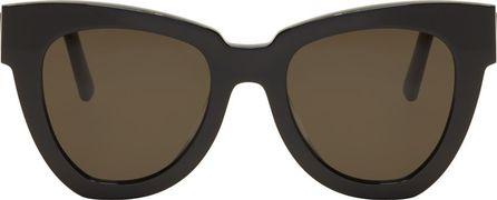 Gentle Monster Black Laser Sunglasses