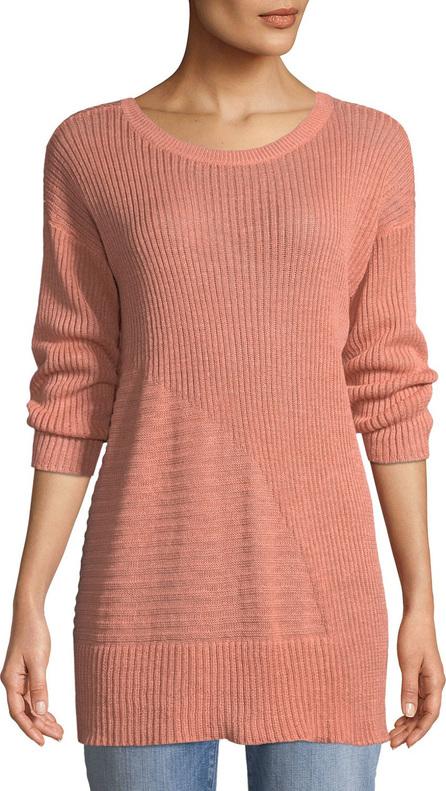 Eileen Fisher Organic Linen 3/4-Sleeve Easy Tunic