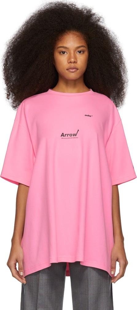 ADER error Pink Aewing T-Shirt