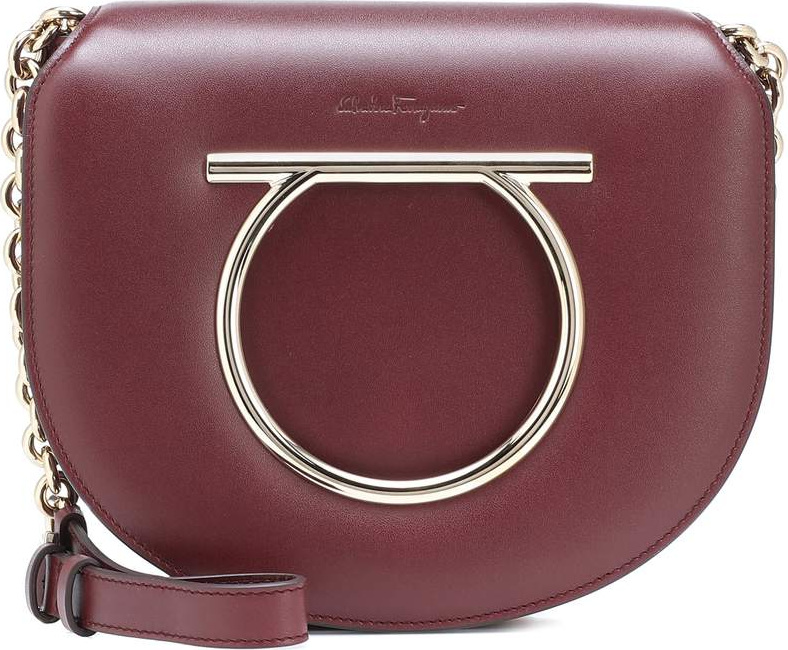 Salvatore Ferragamo - Vela Medium leather shoulder bag