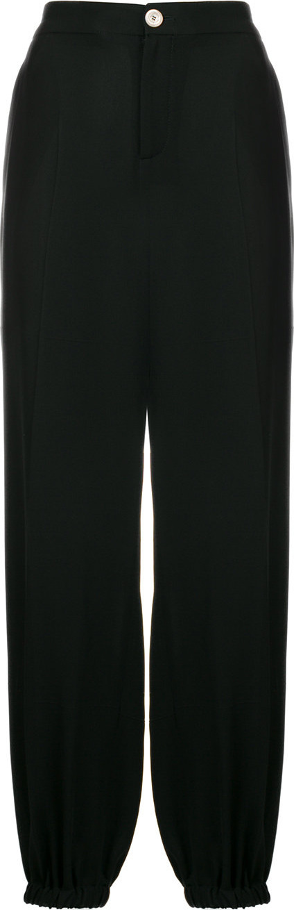 Gucci Elasticated-cuffs tapered trousers