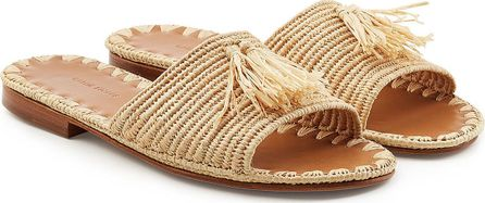 Carrie Forbes Adam Sandals with Raffia