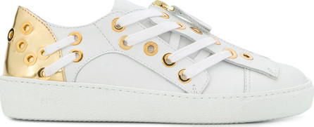 Nº21 Lace-up detail sneakers