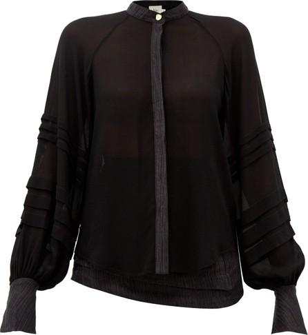 Aje Acacia bishop-sleeve blouse