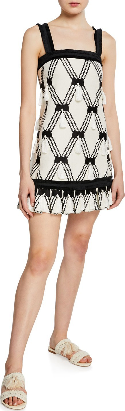 Alexis Bijou Tassel Sleeveless Short Dress
