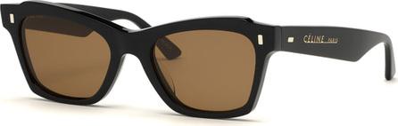 Celine Square International-Fit Acetate Sunglasses