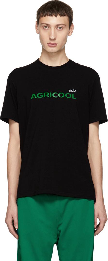 Anton Belinskiy Black 'Agricool' Logo T-Shirt