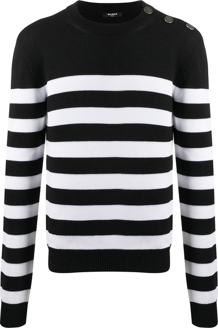 Balmain Striped knit jumper