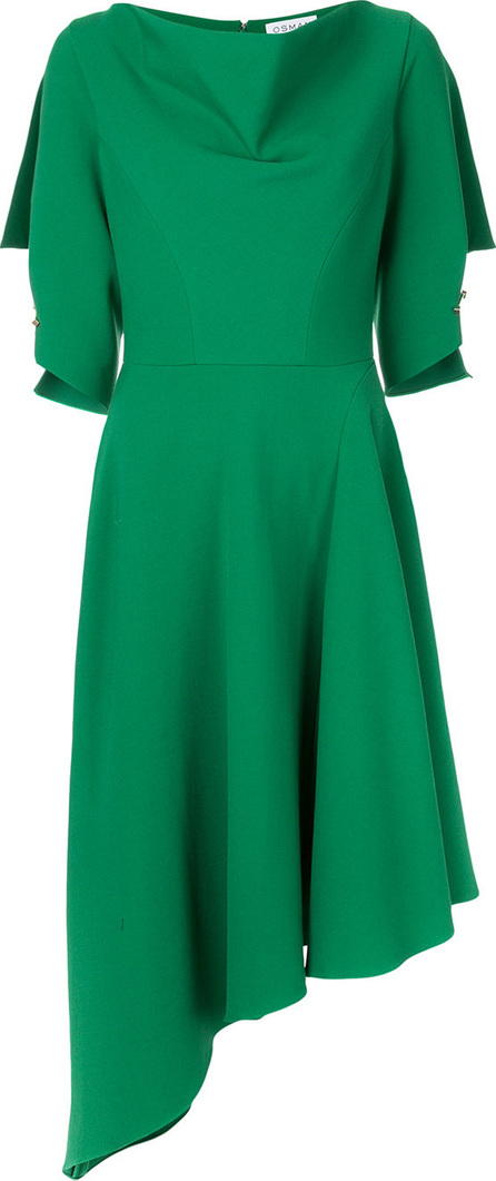 Osman Asymmetric hem dress
