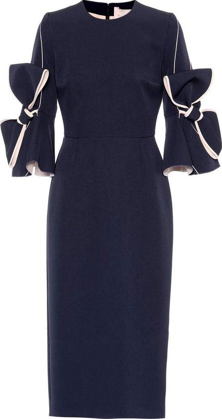 Roksanda Tie-sleeve dress
