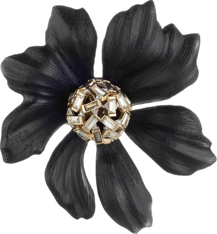 Alexis Bittar Crystal Baguette Cluster Flower Pin