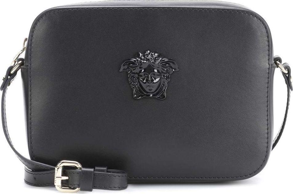 Versace - Palazzo leather shoulder bag