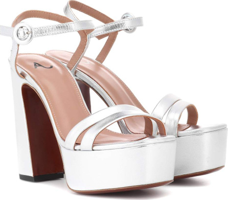 Alexachung Leather plateau sandals