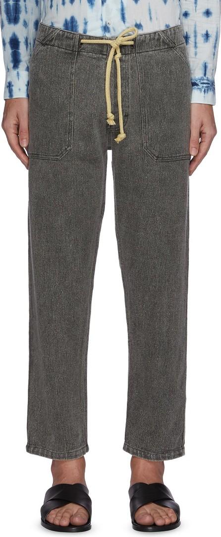 Nanushka Nova' Japanese style drawstring jeans